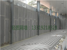 轻质隔墙板安装施工经典案例图片