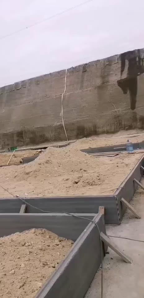 陕西西安建筑地基承台模替代砖台模案例展示